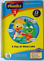 LeapFrog Leap Pad Phonics Program Lesson 3, Short Vowels O and E, Bookle... - $1.97