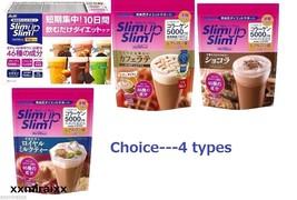 Asahi JAPAN Slim UP Slim SHAKE Choice 4  Weight Management Shake collage... - $18.83+