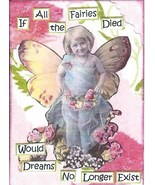ACEO ATC Art Card Print Girl Girls Fairy Fairies Wings Dreams No Longer ... - $2.75