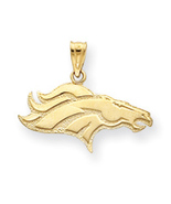 Small Denver Broncos Pendant - $19.95+