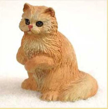 Persian Red Cat TINY ONES Figurine Statue Pet Resin - $8.99