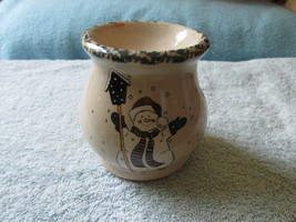 Snowman Candle Potpourri Scenting Pot From Home and Garden Party 1999 - $6.00