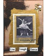 ACEO ATC Art Card Print Live Love Dance Ballet ... - $2.75