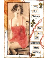 ACEO ATC Art Card Print Women Ladies Not Cheap But On Special Week Pin U... - $2.75