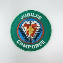Vintage BSA Boy Scout Patch Mid America Council 1985 Diamond Jubilee Camporee - $19.00
