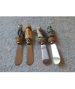 Boston Warehouse Set Of Four Spreaders With Cat... - $7.99