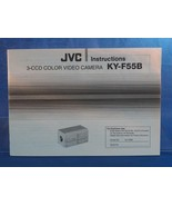 JVC 2 Ccd Colore Video Camera Ky F55B Istruzioni Manuale Dq - $24.38