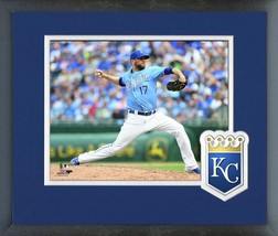 Wade Davis 2016 Kansas City Royals - 11 x 14 Team Logo/Matted/Framed Photo - $42.95