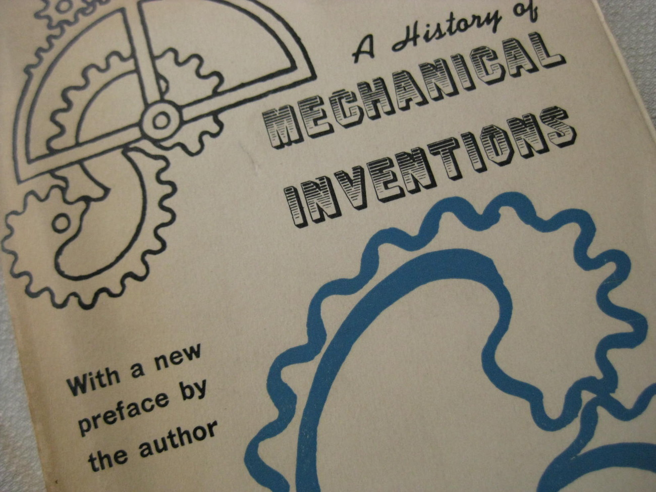 Primary image for Book - A HISTORY OF MECHANICAL INVENTIONS - Abbott Payson Usher