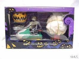 Nightmare Before Christmas Remote Jack Snow Mobile Mint never removed fr... - $199.99