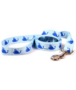 Large 5 foot Sweet Lil Whales Standard Dog Leash - $11.99