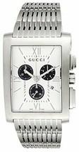 Gucci YA086319 Men's Watch White/Black Dial G Metro Chronograph Date FRE... - $964.21