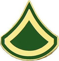 Army E-3 Private First Class Military Rank Lapel Pin - $13.53