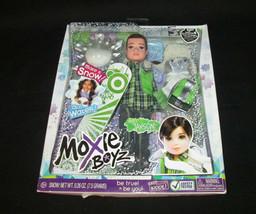 Moxie Boyz Magic Snow Jaxson Doll Plus Free Poster MGA Entertainment - $29.69