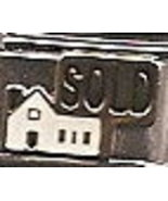 House Sold Italian Charm Link 9 MM            - $9.95