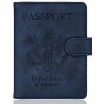 WALNEW RFID Blocking Passport Holder Travel Passport Cover Case Cards - $8.31+