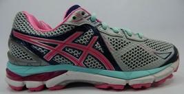 Asics Gt 2000 V 3 Größe 7,5 M (B) Eu 39 Damen Laufschuhe Grau Pink T550n