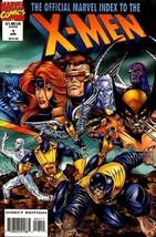 OFFICIAL MARVEL INDEX TO X-MEN #1 NM! - $1.50