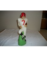 VINTAGE FOOTBALLPLAYER LIQUEOR BOTTLE  - $20.00