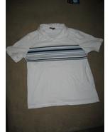 Apt 9 Mens White Short Sleeve Casual Shirt Size: Medium - $13.99