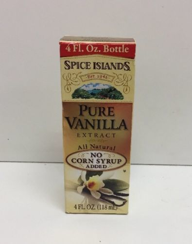 Primary image for (New) Spice Islands Pure Vanilla Extract, 4 Fl oz