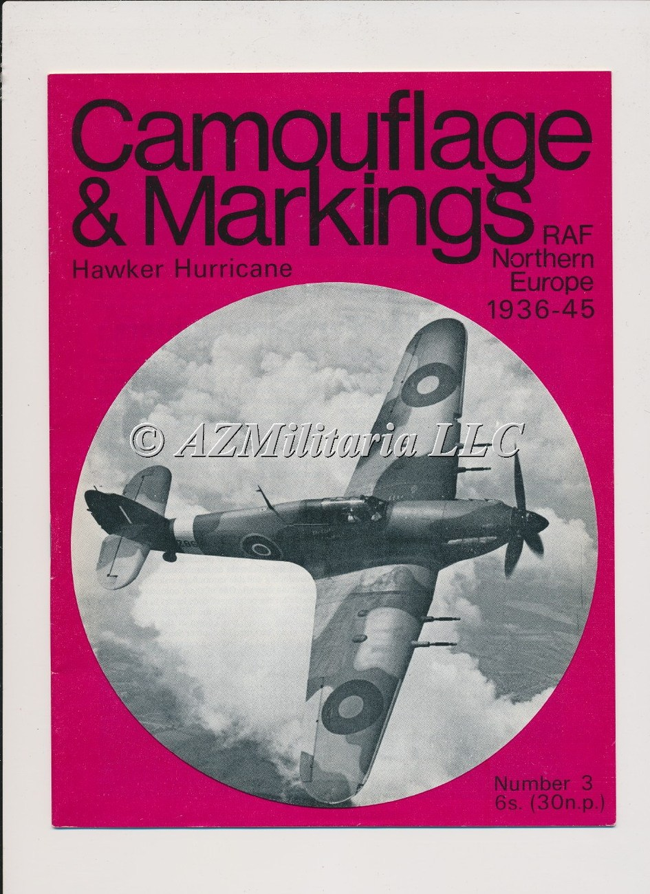 Camouflage & Markings Hawker Tornado Typhoon & Tempest  RAF Northern Europe 1936