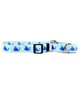 Medium Sweet Lil Whales Martingale Dog Collar 2... - $11.99