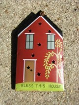 OR-338 Bless This House Metal Christmas Ornament  - $1.95