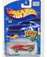 Mattel Hot Wheels - 070 Red 63' Corvette - $2.00