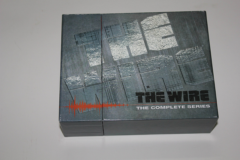 The Wire Complete Series Seasons 1-5 23 DVD Box Set Free Shipping