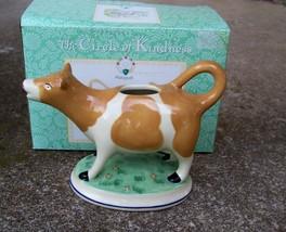 "Pfaltzgraff Circle Of Kindness ""Sweet Face Cow Creamer""  2007' Nice Nib - $19.99"