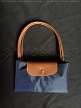 Longchamp New Le Pliage Nylon Tote Handbag Navy Blue Large France - $84.99