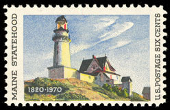 Primary image for 1970 6c Maine Statehood Scott 1391 Mint F/VF NH