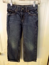 Sonoma  Relaxed Fit W/Adjustable Waist Jeans Size 7 Boy's EUC - $15.77
