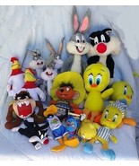 15 Assorted WB LOONEY TUNES PLUSH CHARACTER Bug... - $34.64