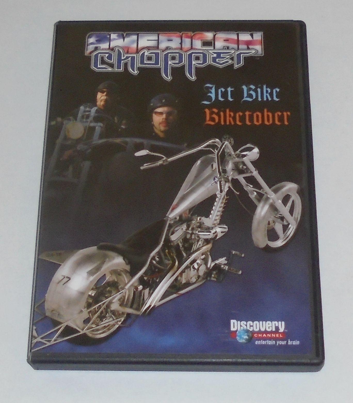 Discovery Channel American Chopper: Jet Bike & Biketober