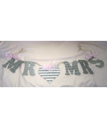 Corrugated Metal Mr. Hearts Mrs. Garland Sign... - $24.99