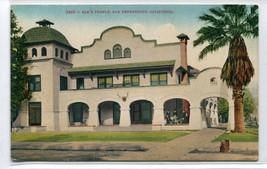 Elk's Temple San Bernardino California 1910c postcard - $6.44