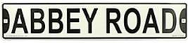"BEATLES ABBEY ROAD METAL STREET SIGN  5"" X  24""  - £13.88 GBP"
