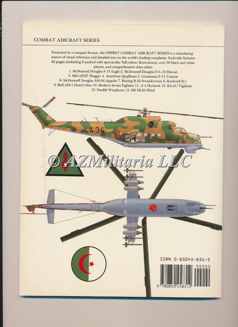 Mil Mi-24 Hind Combat Aircraft Series 14