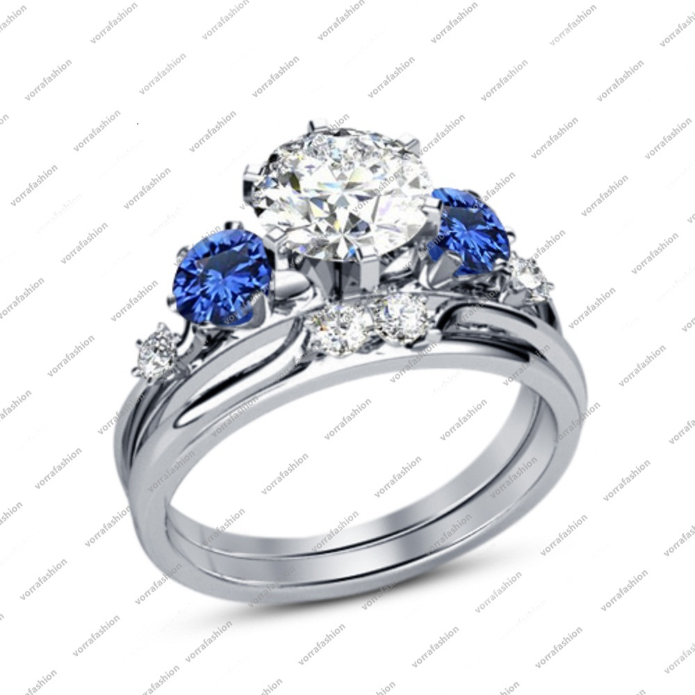 Perfect Antique Affordable Engagement Ring 0 50 Carat Round Cut Cz on White G