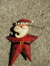 OR-350 Santa metal christmas ornament  - $1.95