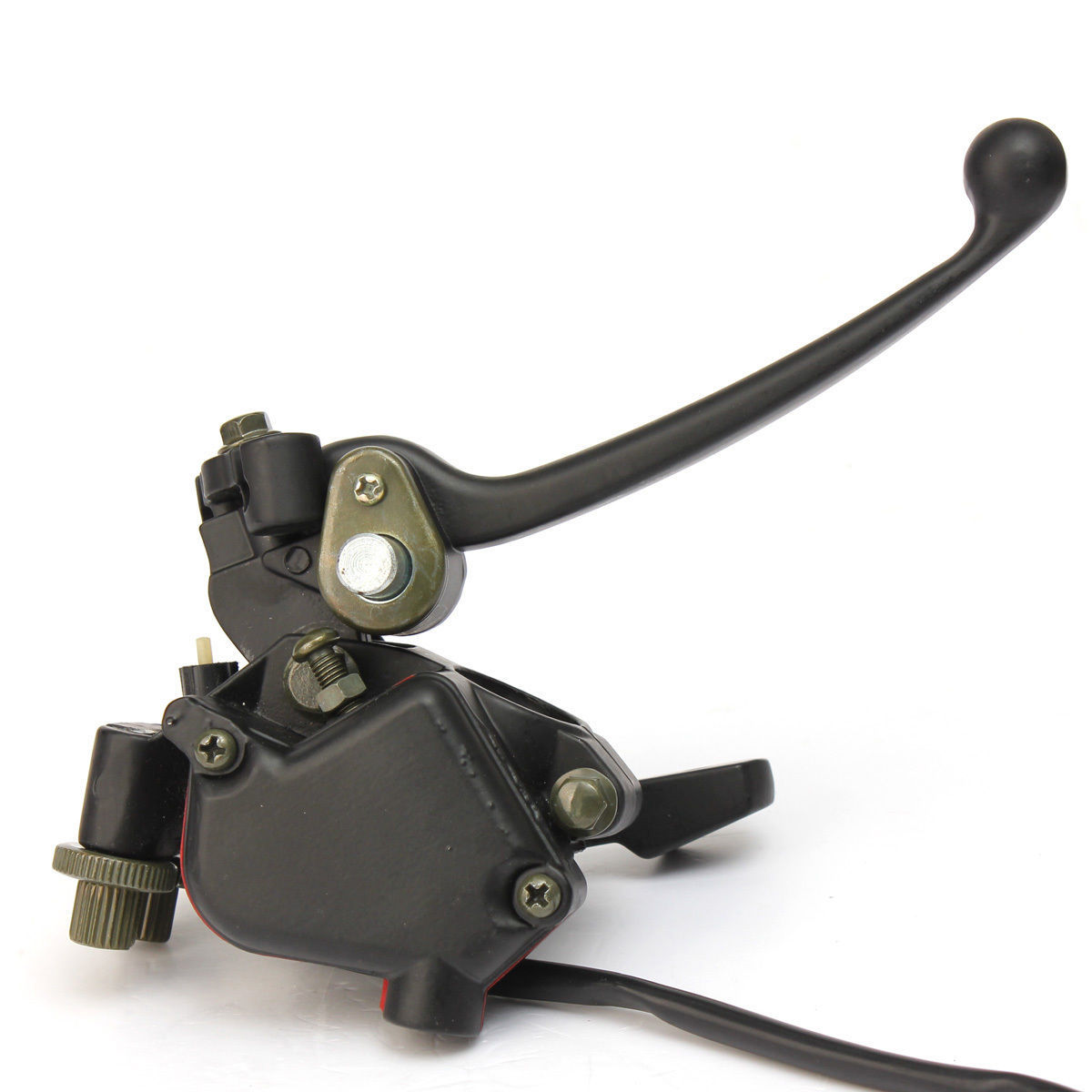 Ds 90 Brake Lever : Throttle brake lever handle for cc can am