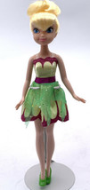 "2010 Disney Tinkerbell Clothes Shoes 10"" Posable Doll Jakks Peter Pan Shoes Euc - $19.80"
