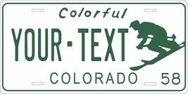 Colorado 1958 Personalized Tag Vehicle Car Auto License Plate - $16.75