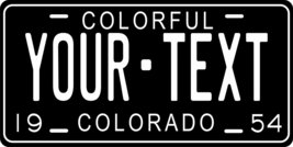 Colorado 1954 Personalized Tag Vehicle Car Auto License Plate - $16.75