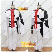 Ferid Bathory military Form Seraph of the End Cosplay Costume Custom Mad... - $93.99