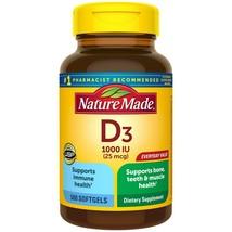 Nature Made Vitamin D3 1000 IU (25mcg) Softgels, 500 Ct for Bone Health.. - $27.71
