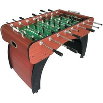 "Foosball Table Contemporary Style 54"" Chrome-Plated Handles E–Z Spin Bea... - $524.77"