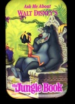 Jungle Book  Disney Button Pin 2 3/4 X 1 3/4 Inch  Rare - $4.95